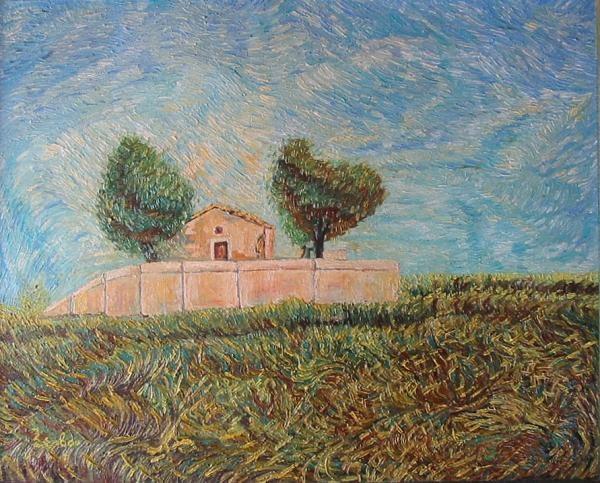 Church impressionistic style