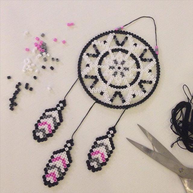 Dreamcatcher hama beads by joohannafors