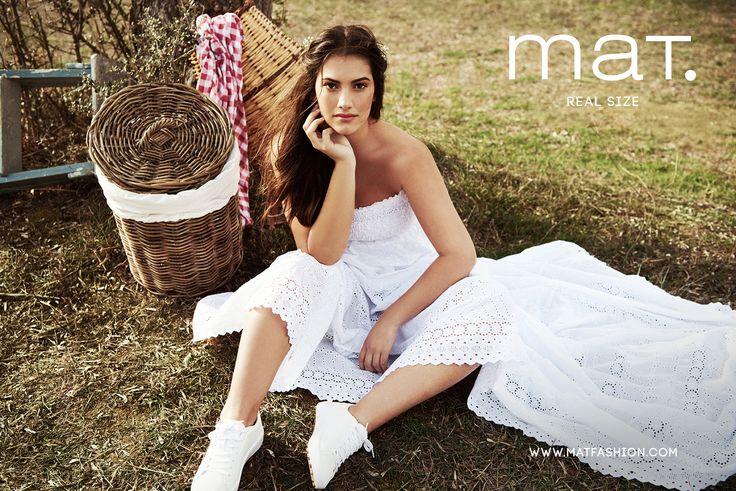 mat. Spring / Summer 2017  l http://mikk.ro/tz7 Long boho lace romantic strapless dress