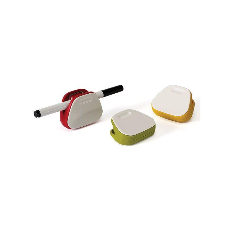 Joseph Joseph NoteClips 3-pk. Multicolor Magnetic Bag Clips
