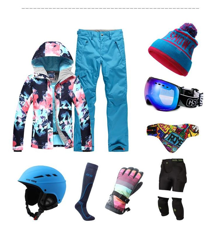 Gsou Snow Brand New Style Women's Colorful Snowboard/SKI Jacket Official Store.