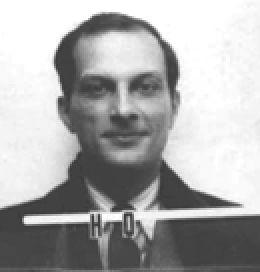 Stanisław Ulam, jeden z genialnych polskich matematyków, członek Lwowskiej Szkoły Matematycznej. Zdjęcie pochodzi z jego identyfikatora z Los Alamos, gdzie pracował przy Projekcie Manhattan.