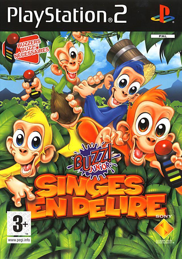 Buzz ! Junior : Singes en Délire - PlayStation 2 - Acheter vendre sur Référence Gaming