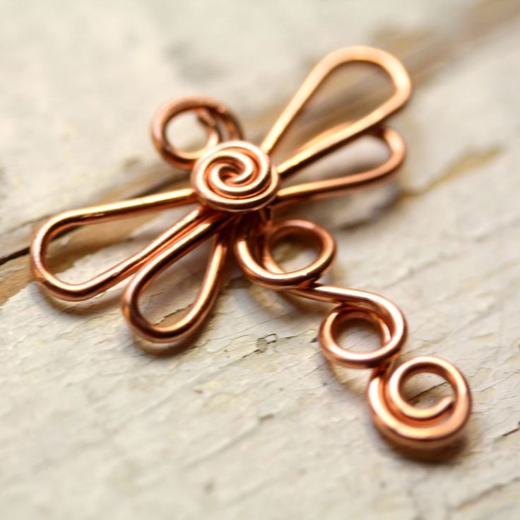 552 best DIY Wire Jewelry images on Pinterest Wire jewelry Copper