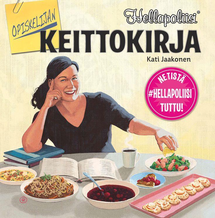 Opiskelijan keittokirja opastaa edullisten ja helppotekoisten ruokien valmistukseen.  Kirjassa esitellään keittiön perustarvikkeet ja paneudutaan siihen, mitä ruokakaapissa kannattaa pitää, jotta monipuolista ruokaa voi valmistaa milloin tahansa.  Kirjan reseptit ovat pääsääntöisesti yhdelle tai kahdelle henkilölle toteutettuja, joitakin poikkeuksia lukuun ottamatta.  Kirja soveltuu siksi myös pienen ruokabudjetin talouksille ja pienille perheille.