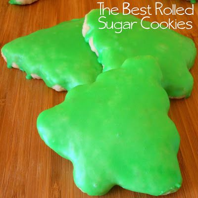 Made this sugar cookie recipe from #AllrecipesMag and they were awesome!  Tasty and fun to make, topped with a simple icing- perfect for the holidays! @Allrecipes #Christmas #cookieplate