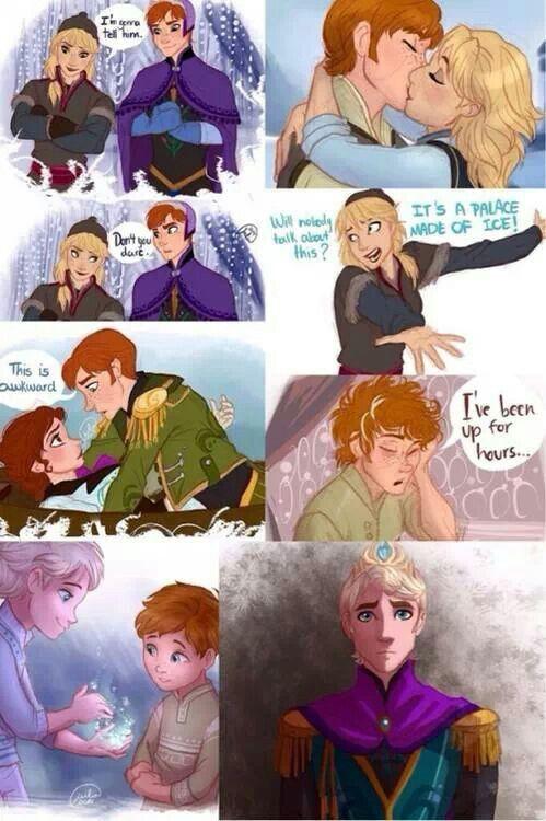 Genderbent Frozen!