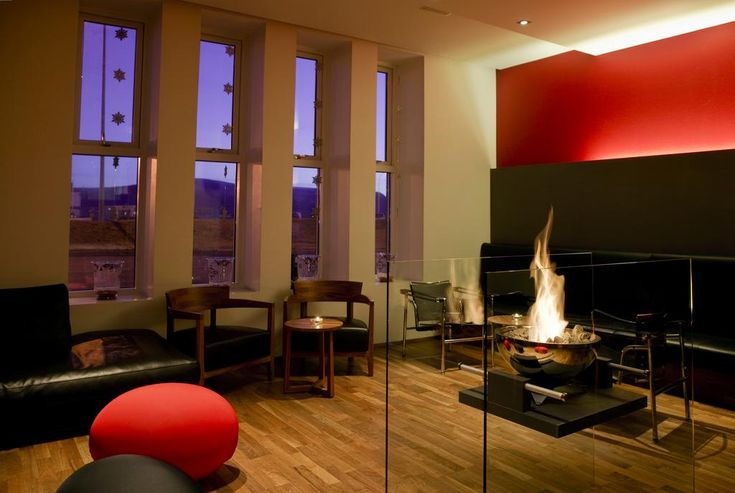 £246 Located by Arnarhóll Park in central Reykjavík, this stylish hotel features modern Nordic design, free internet access and a top-floor restaurant offering...