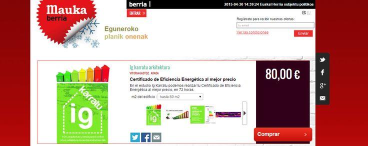 oferta certificación energética