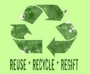 "I think ""Reduce Regift Recycle"" makes more sense."