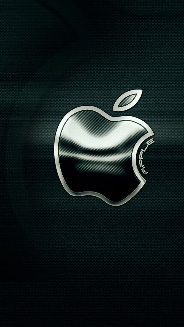 Specially Designed Free Wallpapers for iPhone 5 Apple Logo iPhone Texture | BACKGROUNDKU.COM