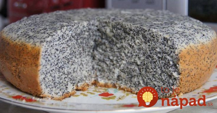 Hrnčekový makový koláč
