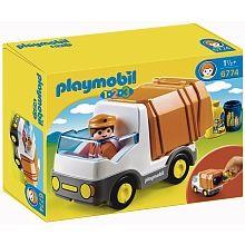 Playmobil 1.2.3 - Le camion poubelle - 6774