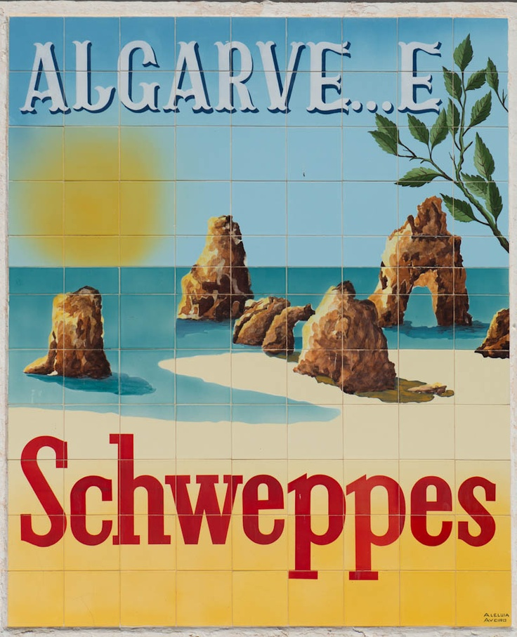 old schweppes advertisements in south portugal