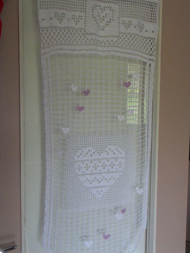 17 meilleures id es propos de rideaux en crochet sur pinterest grille de crochet crochet et. Black Bedroom Furniture Sets. Home Design Ideas