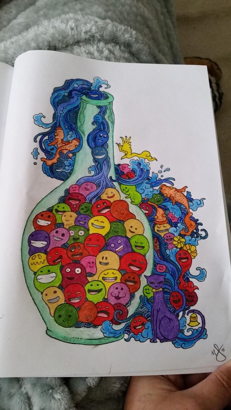 Doodle Invasion Zifflins Coloring Book Zifflin Kerby Rosanes By Nicol J