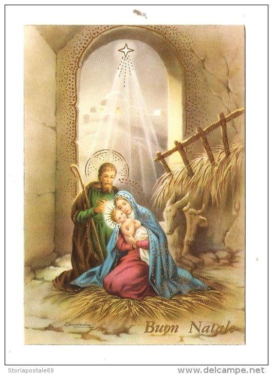 BUON NATALE.NATALE.CARTOLINA.POST CARD.MERRY CHRISTMAS.NUOVA.IN ASTA CARTOLINE.PASQUA.NATALE.ANNO NUOVO.ZANDRINO.550 - Santa Claus