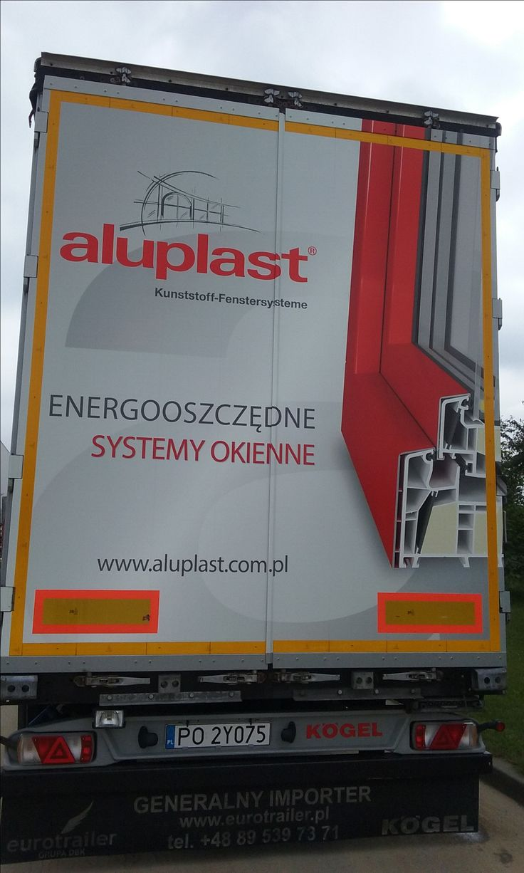 #truck; #advertising; #aluplast; #cars;