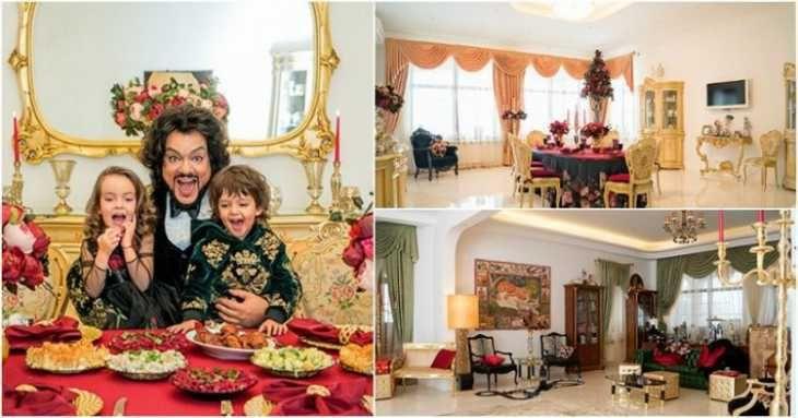 Роскошные дома наших знаменитостей, обстановка которых многое расскажет вам и о самих хозяевах