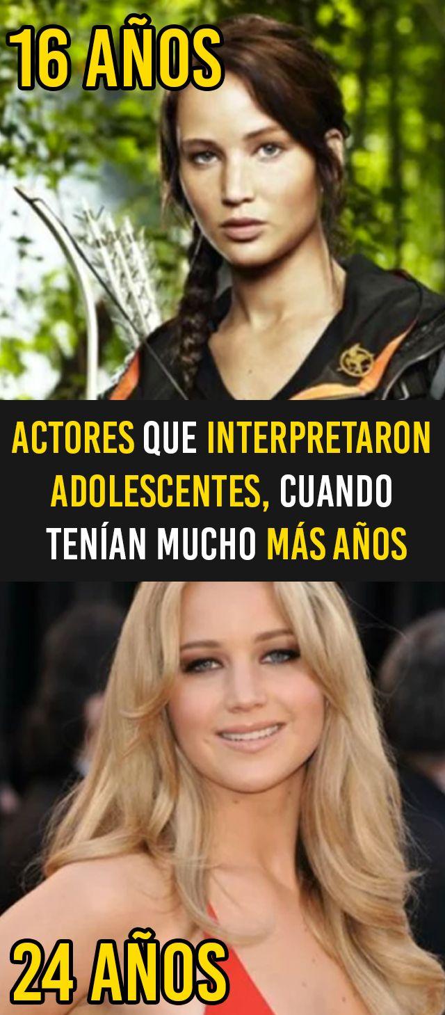 Actores que interpretaron adolescentes, cuando tenían mucho más años