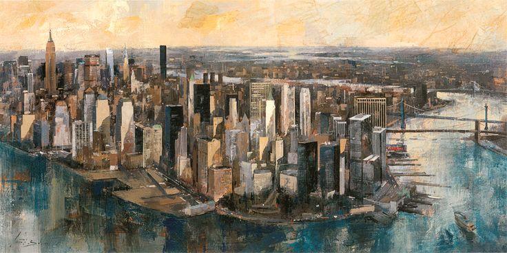 South Manhattan by Marti Bofarull