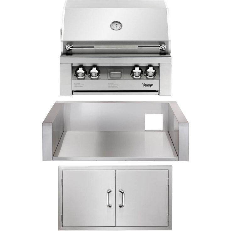 kitchenaid built in grill 36