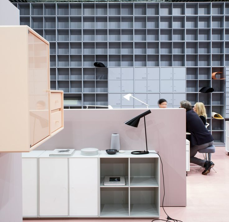 Stockholm Furniture Fair 2016 #stockholm #furniture #montana #danish #design #pastels #officedesign
