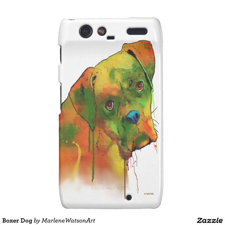 Boxer Dog Droid RAZR Covers