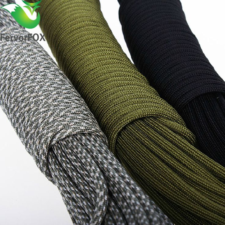 33FT(10M) Paracord Parachute Cord Lanyard Rope Mil Spec Type III 7 Strand Climbing Camping survival equipment