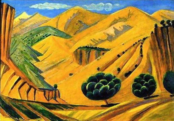 1923 In Armenia. - Сарьян Мартирос Сергеевич