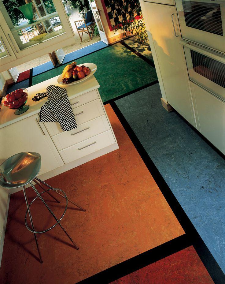 124 best marmoleum sheet patterns images on pinterest for Cool linoleum flooring