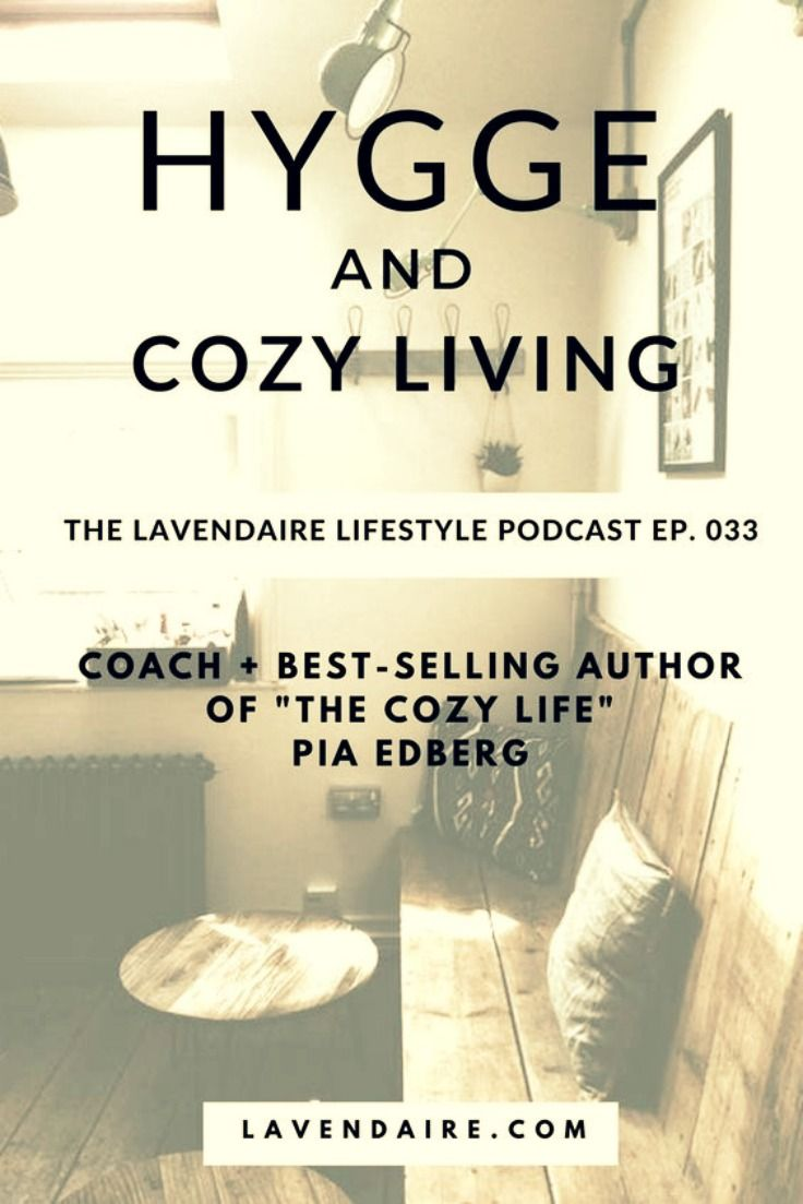 "- HYGGE + THE COZY LIFE - Podcast - With fifteen years of personal development courses under her belt, today's guest, Pia Edberg, is a self-proclaimed ""personal development junkie."" As a self-published best-selling author and coach, she aspires to teach others about hygge and happy living. This episode is perfect for everyone as we grow to design our most authentic life. via: @lavendaire"