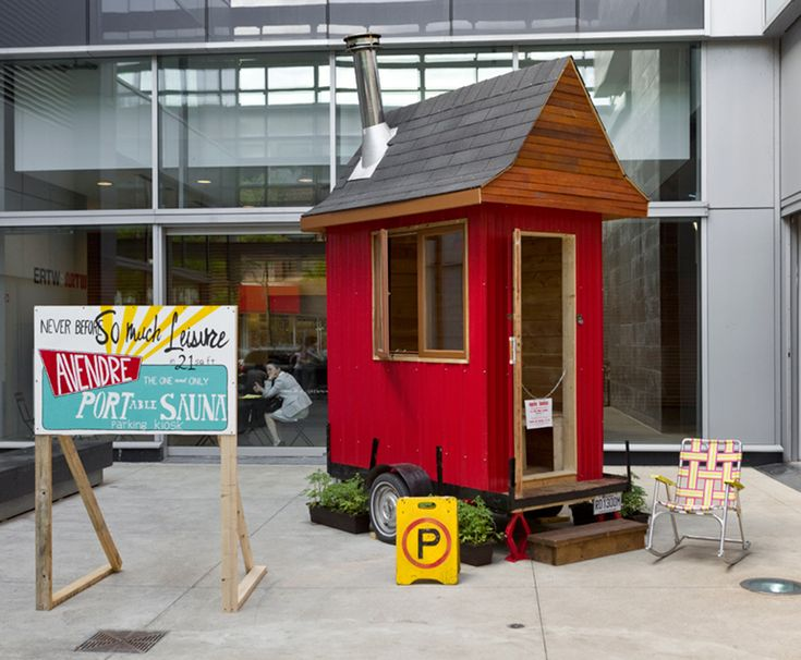 """Portable Tiny Sauna 