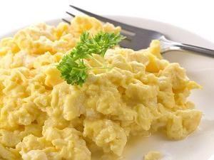 Tip: Rühreier kalorienarm und sauber in der Mikrowelle zubereitet