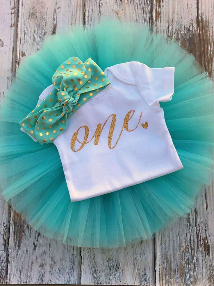 Mint and Gold First Birthday Outfit First Birthday Outfit Girl Baby Girl 1st Birthday Outfit 1st Birthday Girl Outfit Cake Smash Outfit by PinkaliciousGirl on Etsy https://www.etsy.com/listing/288325651/mint-and-gold-first-birthday-outfit