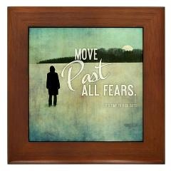 Framed Tile > Move Past All Fears + Gifts > TimeToKickBuTs Store $12.99