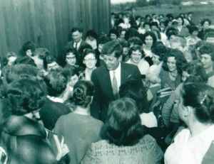 Of historical note, during his run for the White House in 1960, John F. Kennedy conducted a campaign stop in Portland and paid a visit to the Marycrest School. | University of Western States history - 110 years of academic excellence