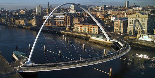 Millenium Bridge – Gateshead, İngiltere