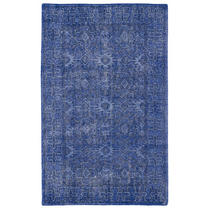 You'll love the Herringbone Hand Woven Blue Area Rug at AllModern - With Great Deals on modern Décor  products and Free Shipping on most stuff, even the big stuff.