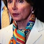 Backlash: Nancy Pelosi's ironic fashion choice for shutdown debate. Twitter: Nancy Pelosi wears costly Hermes scarf when 800,000 federal workers are being furloughed. -