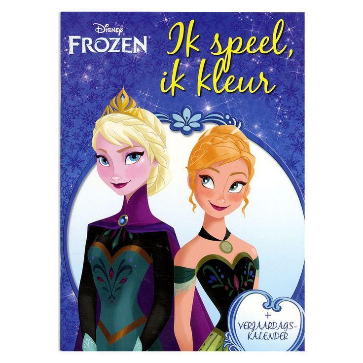 Beleef de film Frozen opnieuw in dit boek met spelletjes en kleurplaten. Als extraatje vind je in het midden van het boek een superposter met een herbruikbare kalender. Daarop kun je de verjaardagen van je vrienden en familieleden noteren. Afmeting:29 x 21 cm - Disney Frozen Kleurboek met Kalender