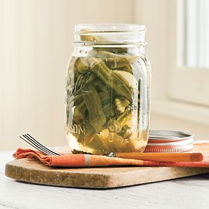 How To Pickle Okra | Okra Recipes | SouthernLiving.com.   This is what I am doing with my crop of okra this year.