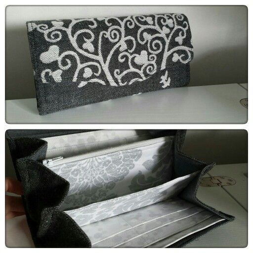 Necessary Clutch Wallet by EmBee Designs (made from Kokadi Mr Wunderland)