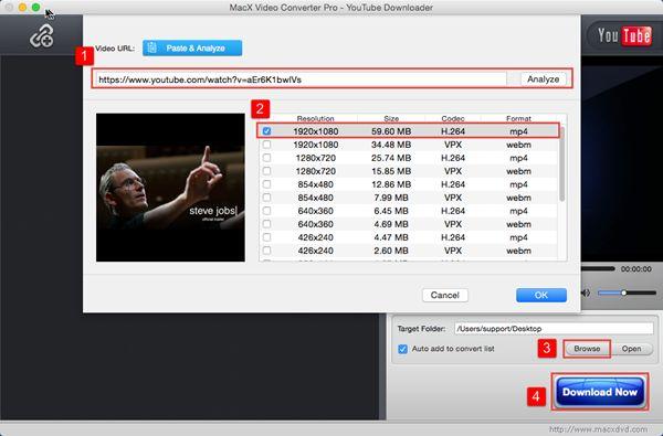 Save YouTube Videos on Mac Save YouTube Videos on Mac(El Capitan