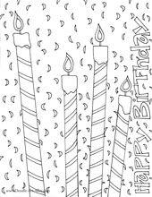 Birthday Kaarsen