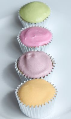 Natural Dyes for Buttercream Frosting
