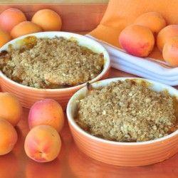 Apricot peach crisp | breakfast | Pinterest