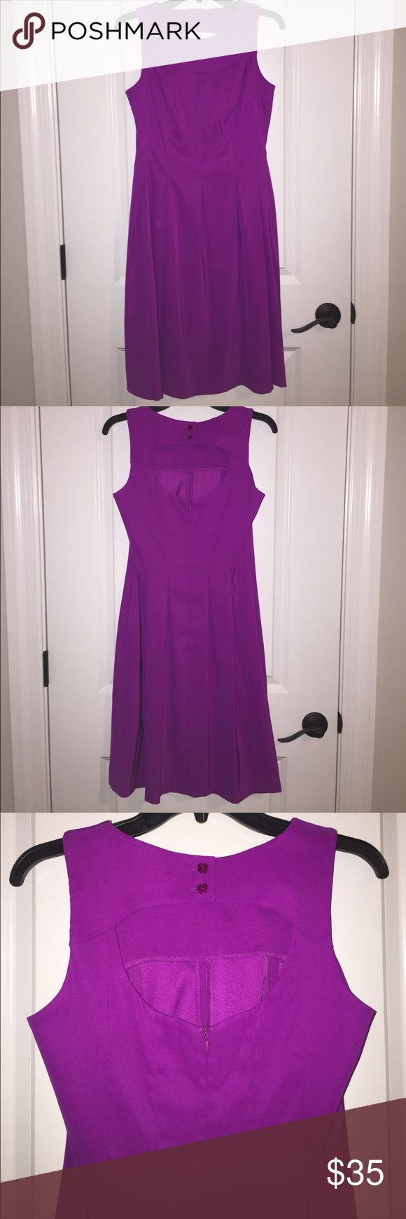 NWOT Kim Rogers Magenta Dress Never worn. Perfect for so many occasions! From a smoke and pet free home. Kim Rogers Dresses