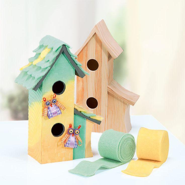 12 besten vogelh user bilder auf pinterest h tten - Modernes vogelhaus ...