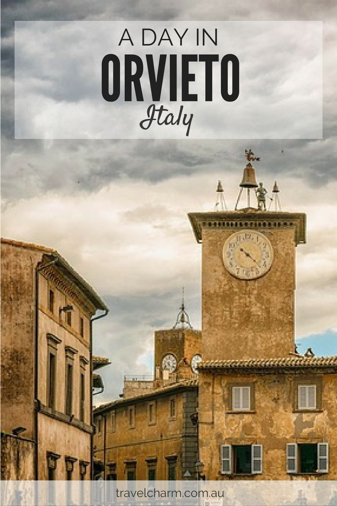 Take a look at Orvieto in one day. A complete, done for you, itinerary.